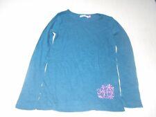 vêtement habit fille t-shirt longue manche Désigual taille 7-8 ans