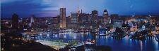 Jigsaw puzzle Explore America Baltimore Maryland night skyline 1000 piece NEW