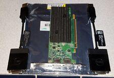 Nvidia Quadro NVS 295 256mb PCIe DisplayPort Graphics Card 2 Port W 2 Dongles