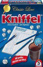 Schmidt Spiele Classic Line: Kniffel mit gr. Würfeln & Block Kinderspielzeug NEU