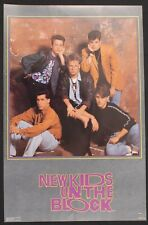 "New Kids On The Block poster 1990 22 ""x 34 "" Original Funky Enterprises #3280"