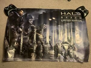HALO REACH - Limited Edition XBOX 360 2010 Microsoft Game Poster