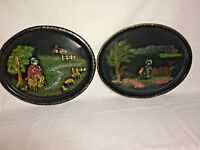 Antique Serving Tray's