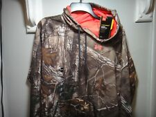Under Armour Realtree  Womens Hoodie Loose Strom Camo Water Resistant Size L