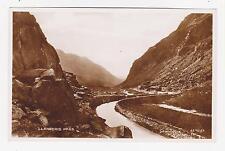 Rppc,Llanberis Pass,Snowdonia,Wales,U.K. c.1909