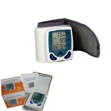 Digital Automatic WRIST Blood Pressure Monitor Tester Carry BOX included UK New