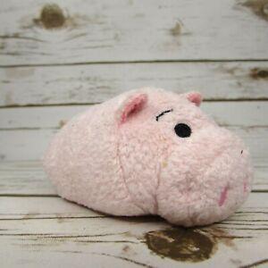 "Disney Store Hamm Toy Story Pig Tsum Tsum 3.5"" Mini Bean Bag Plush"