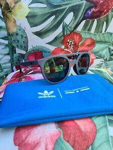 * Adidas UNISEX Brille Sonnenbrille NEU grau AOR003.BHS.071 50o22 140