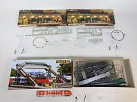 CJ198-3# 3x Faller H0 Packung: 180644 Bahnsteig-Lichtleiste + 120198, NEUW+OVP