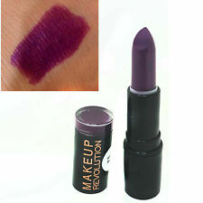 Makeup Revolution Atomic Lipstick Make It Right | Purple Lip Stick and Gloss Duo