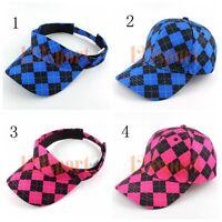 Craftsman Baseball Outdoor Sports Golf Hat Cap Sun Visor Wig Hat Fake Flair Hair