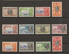 CAYMAN ISLANDS 1935 SG 96/107 Fine Mint/MNH Cat £200