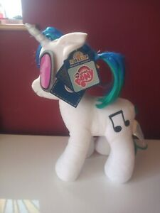 """My Little Pony DJ PON-3  Build A Bear Rare. Large 15"""" Plush with tags MINT NEW"""