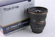 Tokina AT-X PRO 12-24mm f/4 DX Pro AF Lens For Nikon F Mount Near Mint
