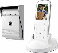 Smartwares VD36W Funk wireless Video-Türsprechanlage Komplett-Set 1 Familienhaus