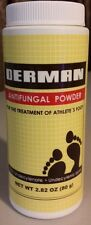 DERMAN ANTI-FUNGAL POWDER FOR THE TREATMENT OF ATHLETE'S FOOT 80g