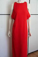 Long Dress MAX MARA Elegante- Size 42 I - Red Cady Viscose Dress