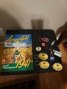Vintage Farm & Seed Advertising-1941 Dekalb Catalog  & Farm  Key Chains