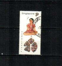 SINGAPORE Scott's 779 Traditional Games, Fivestones F/VF used ( 1997 )