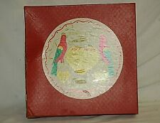 "Vintage Pfaltzgraff Pennsylvania Dutch Stoneware 9-1/4"" Brown Pie Plate Orig Box"