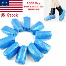 1000 Pcs Waterproof Plastic Shoe/Boot Cover Floor/Shoe Protector Indoor/Outdoor