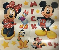 Mickey Mouse & Minnie Mouse Disney Decorative Wall Stickers Decals