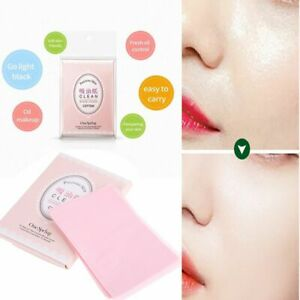 Skin Care Oil Blotting Sheets Makeup Tools Absorbent Paper Facial Cleaning