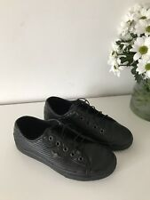 Creative Recreation  Black Leather Snickers Size 5.5