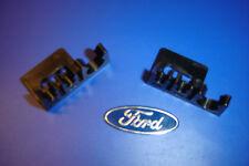 2 Nouvelle Ford Granada Capri cloison frein & Servo Tuyau Clips 2x3/16 1x3/8 2x5 1x10