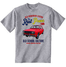 VINTAGE ROMANIAN CAR DACIA 1300 1 - NEW COTTON T-SHIRT