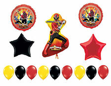 Power Rangers Birthday Balloons, Power Rangers Samurai Party Supplies