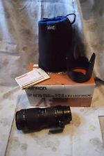 Tamron AF 70-200mm f/2.8 Di LD(IF) MACRO DSLR Lens For Sony A Mount USA A001S