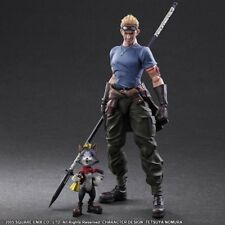 Final Fantasy VII - Cid Highwind & Cait Sith Play Arts Kai Action Figures