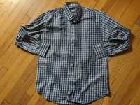 MEN PETER MILLAR CLASSIC BUTTON FRONT SHIRT LARGE