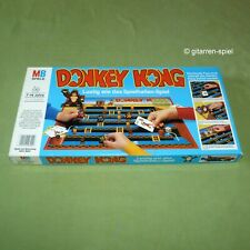 """Donkey Kong Brettspiel mit """"Mario""""-Spielfiguren von MB ©1983 rar Kult Top!"""