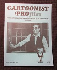 1970 CARTOONIST PROFILES Magazine #8 VF Reg Smythe Andy Capp