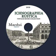 Ichnographia Rustica 1718 – Vintage E-books 3 Volumes PDF on 1 DVD Gardens