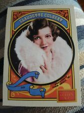 Claudette Colbert (It Happened One Night) Actress 2014 Panini Golden Age #41