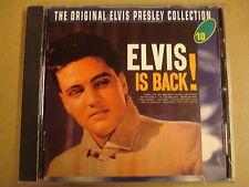 CD / ELVIS PRESLEY - ELVIS IS BACK - THE ORIGINAL ELVIS PRESLEY COLLECTION 10