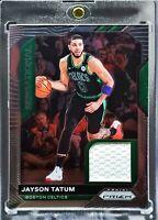 2020 Prizm Jayson Tatum Sensational Game Worn Patch Boston Celtics Star!!