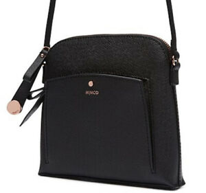 MIMCO Black Bag Sublime Sling Cross Body Hip Clutch BNWT Rose Gold RRP$199 NEW
