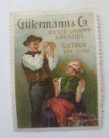 Vignetten, Gütermann & Co Beste S´Happe Nähseide Gutach Breisgau 1910 ♥ (53641)