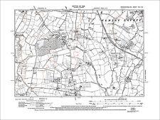 Crossway Green, Acton, Elmley Lovett (SW), old map Worcs 1929: 21NE