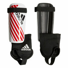Adidas X Youth Soccer Shin Guards Junior Style Red White Size Medium