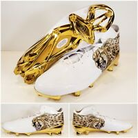 abc0ad2f0ea9 Adidas Adizero 5-Star 5.0 Uncaged Cheetah Mens Football Cleat Gold Sz.15  AQ7817