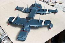Zero-X Supermarionation Thunderbirds Spacecraft Model Replica SML Free Shipping