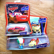 Disney PIXAR Cars FERRARI FANS LUIGI GUIDO & DIRT TRACK MCQUEEN Supercharged lot