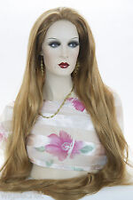 Ginger Red Long Skin Top Straight Wigs