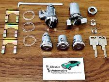 Complete Locks Set 69 70 Impala Door Trunk Ignition Glove Box 17pc Kit Caprice