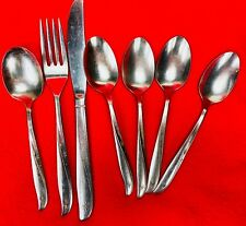 Oneida Twin Star - Vintage Stainless Flatware Lot Teaspoons Fork Knife Sugar